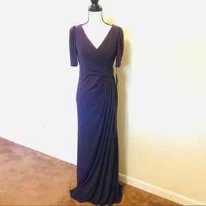 Adrianna Papell Matte Jersey Gown